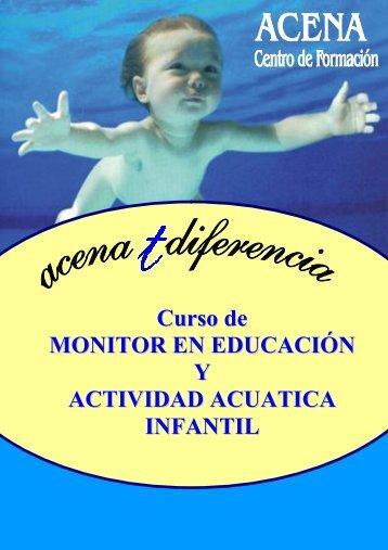 Curso de MONITOR EN EDUCACIÓN Y ACTIVIDAD ACUATICA INFANTIL
