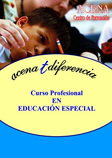 Curso Profesional EN EDUCACIÓN ESPECIAL