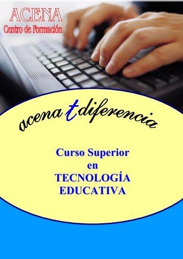 Curso Superior en TECNOLOGÍA EDUCATIVA