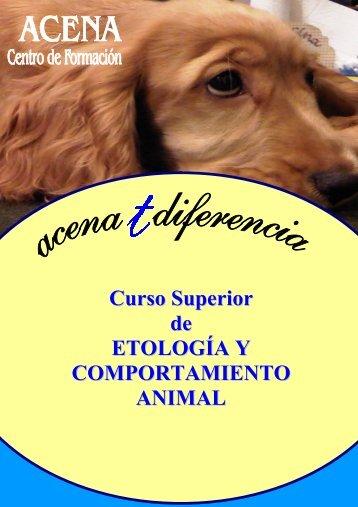 Curso Superior de ETOLOGÍA Y COMPORTAMIENTO ANIMAL