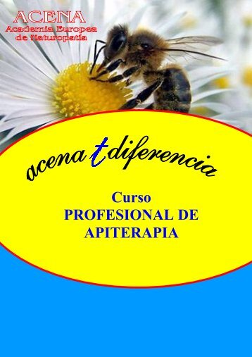 Curso PROFESIONAL DE APITERAPIA
