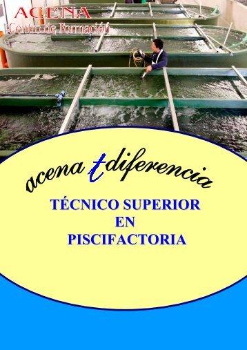 TÉCNICO SUPERIOR EN PISCIFACTORIA