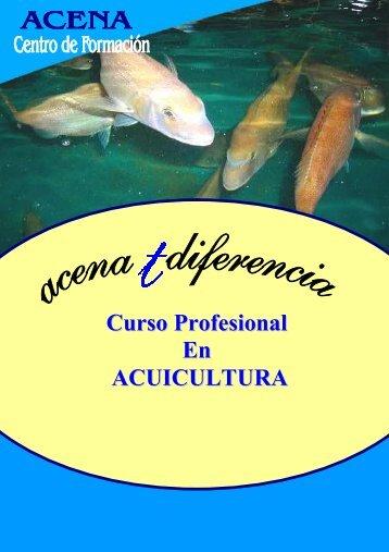Curso Profesional En ACUICULTURA