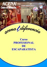 Curso PROFESIONAL DE ESCAPARATISTA