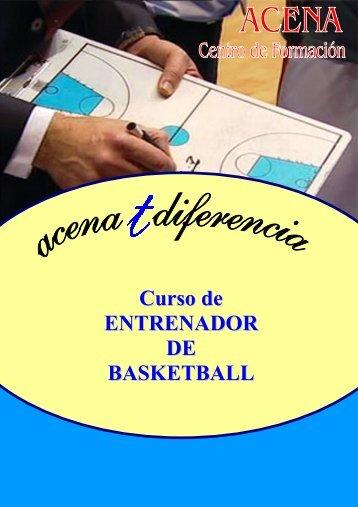 Curso de ENTRENADOR DE BASKETBALL