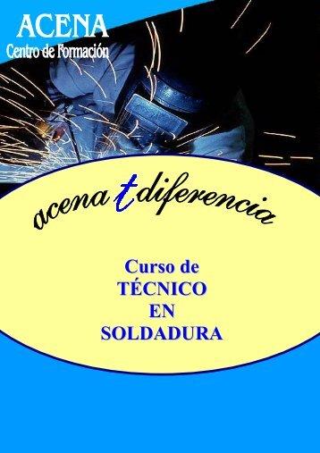 Curso de TÉCNICO EN SOLDADURA