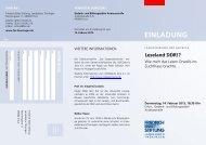 Programm - Landesbüro Thüringen der Friedrich-Ebert-Stiftung