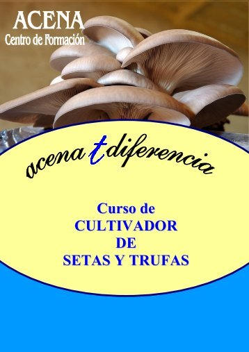 Curso de CULTIVADOR DE SETAS Y TRUFAS