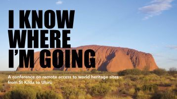A conference on remote access to world heritage sites ... - St Kilda