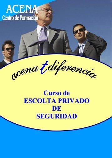 Curso de ESCOLTA PRIVADO DE SEGURIDAD