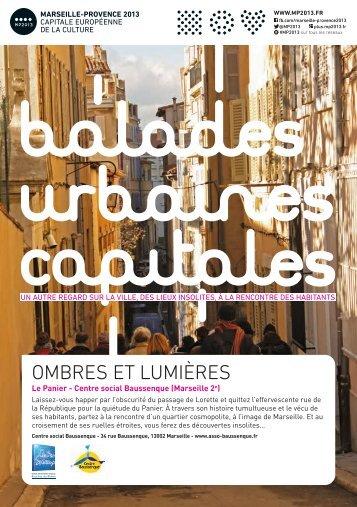 flyer Balades urbaines capitales - Le Panier - Union des Centres ...