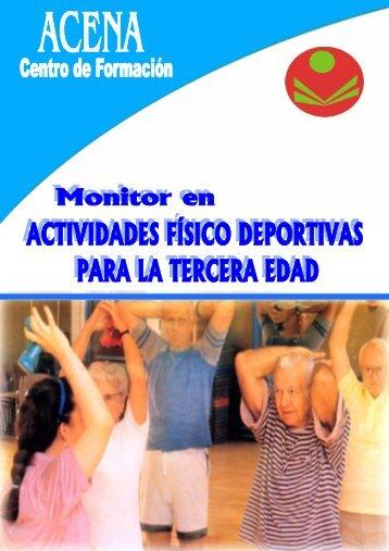 Monitor en Actividades Físico Deportivas en la Tercera Edad