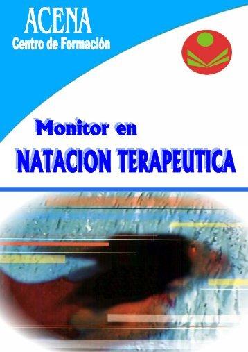 Monitor en Natación Terapéutica