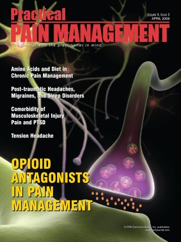 Opioid Antagonists in Pain Management - Pain Treatment Topics.org