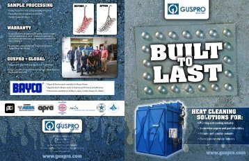 Guspro Oven Brochure - EIS