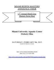 2013 Mardi Gras Meet Info.pdf - Miami Recreation