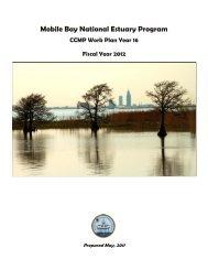 Year 16 Workplan (2012) - Mobile Bay National Estuary Program