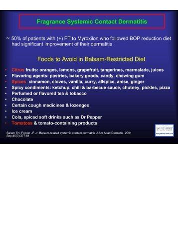 Low Balsam of Peru Diet.pdf - AInotes