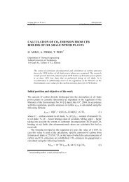 calculation of co2 emission from cfb boilers of oil shale power plants ...