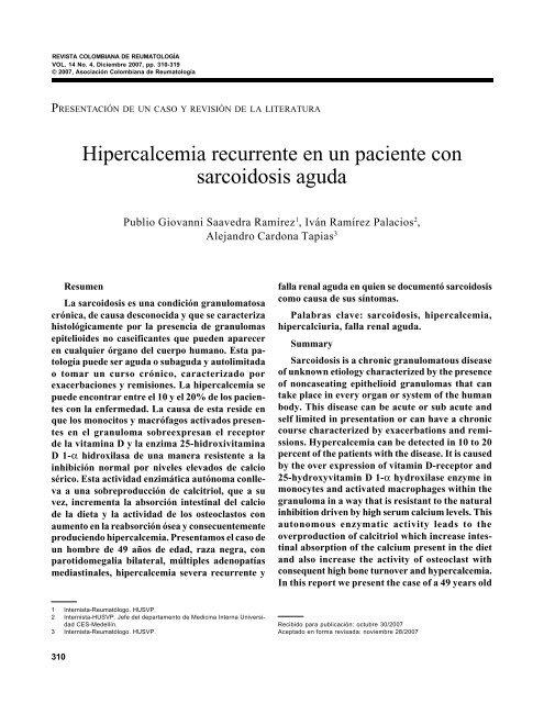 sarcoidosis cutánea sintomas de diabetes