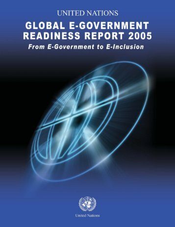Global E-Government Readiness Report - Front Cover.psd - Umic