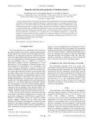 Magnetic and electronic properties of rhodium clusters
