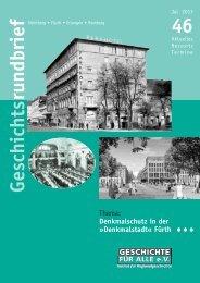 Geschichtsrundbrief 46 - Geschichte Für Alle e.V.