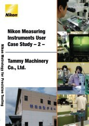Nikon Measuring Instruments User Case Study – 2