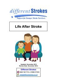 Life After Stroke - Different Strokes