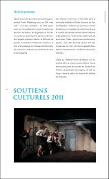 Quelques exemples en 2011 (pdf) - Fondation Leenaards