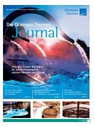 Das Chiemgau Thermen Journal Winter/Frühjahr ... - Camping Stein