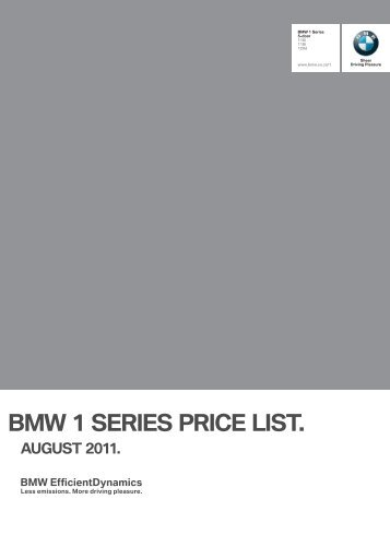 FPP4425 1 Series F20 Aug2011.indd - BMW