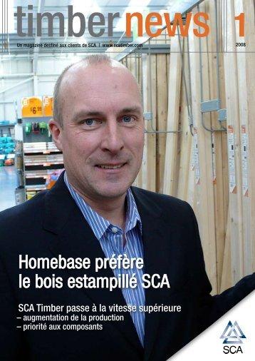 Homebase préfère le bois estampillé SCA - SCA Forest Products AB