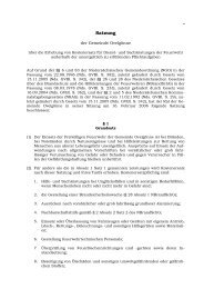 Erhebung von Kostenersatz für Dienst - Gemeinde Ovelgönne