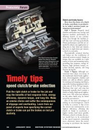 Timely tips - Machine Design