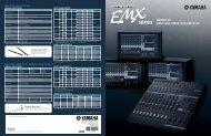 EMX-Series Spec. Sheet - Full Compass