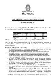 1 2º RELATÓRIO MENSAL DA OUVIDORIA DO PARLAMENTO De ...