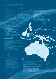 In-Country Activities - Pacific Islands Forum Fisheries Agency
