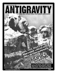 July 2007 (PDF) - Antigravity Magazine
