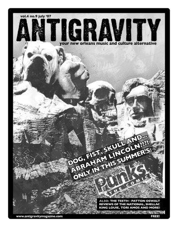 July 2007 (PDF) - Antigravity Magazine