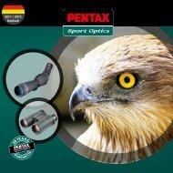 2011 / 2012 Deutsch - PENTAX Sport Optics