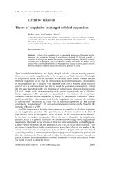 Theory of coagulation in charged colloidal suspensions