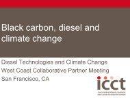 Black carbon, diesel and climate change - Jpgroup-associates.com