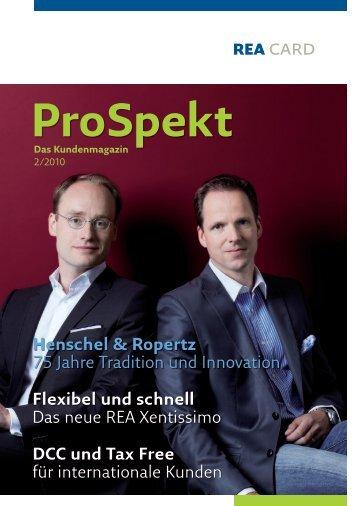 ProSpekt - REA Card