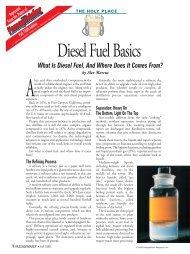 Diesel Fuel Basics - ESI Total Fuel Management