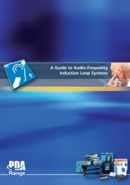 A Guide to Audio-Frequency Induction Loop Systems - CIE-Group