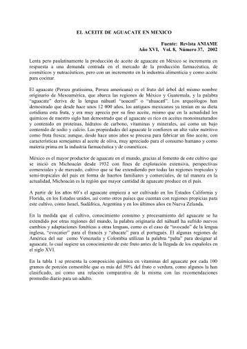 el aceite de aguacate en mexico - Mundial Siglo 21 MEDICINA ...