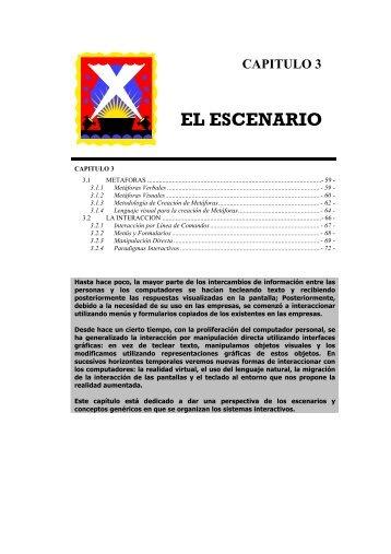 EL ESCENARIO - Repositorio UTN