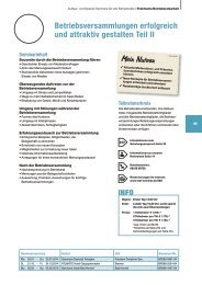 Betriebsversammlungen erfolgreich und attraktiv gestalten ... - W-a-f