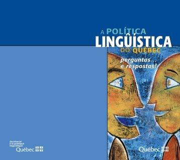 Brochure Q+R-Portugais - Secrétariat à la politique linguistique